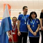 MCC 2012 SAN MARINO.-medaglia argento doppio misto